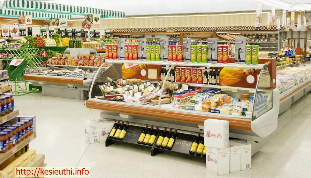 Cách trưng bày sản phẩm trong siêu thị