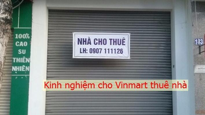 Cho Vinmart thuê nhà
