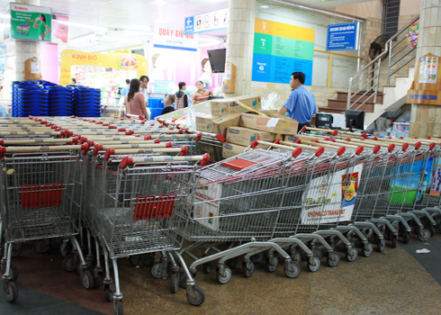 Ứng dụng xe đẩy siêu thị