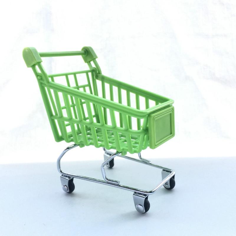 Xe đẩy siêu thị bằng nhựa