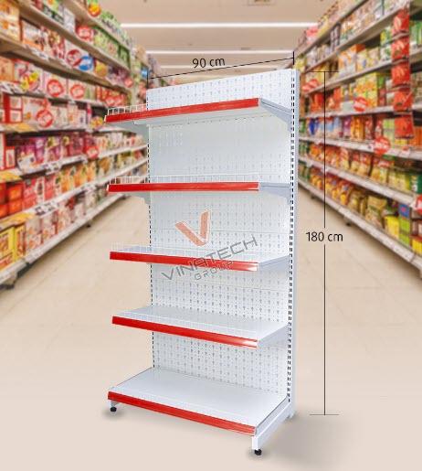 Kệ siêu thị tôn đục lỗ tại Thừa Thiên Huế