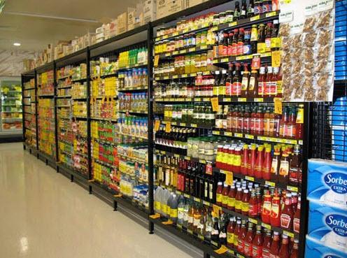 Trưng bày siêu thị theo kiểu Vinmart