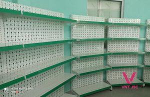 Kệ siêu thị áp tường VNT JSC