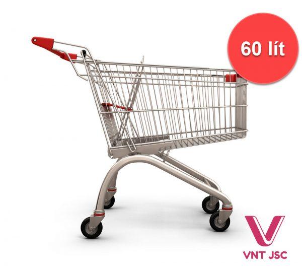 Xe đẩy siêu thị 60 lít