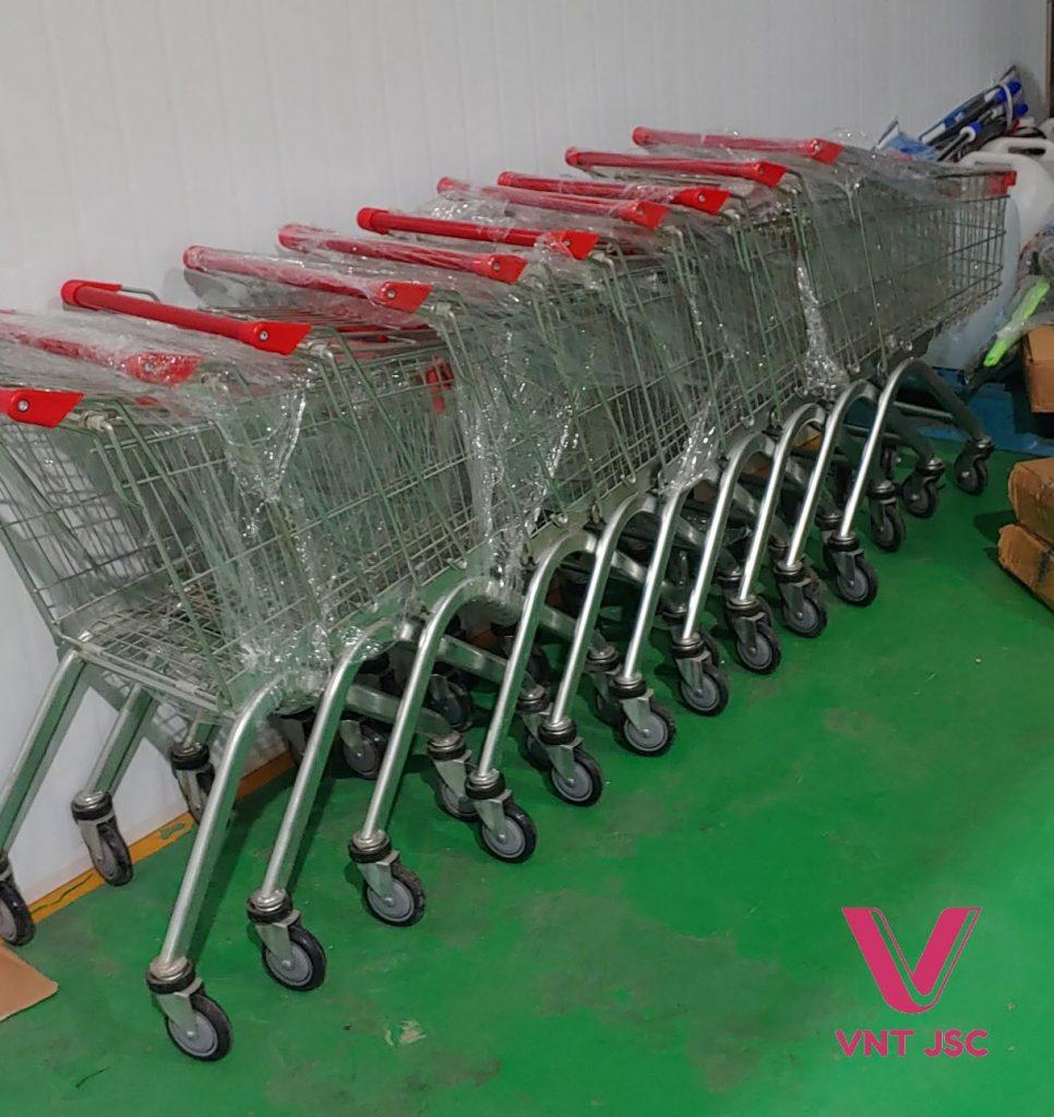 Xe đẩy siêu thị 60l của VNT JSC
