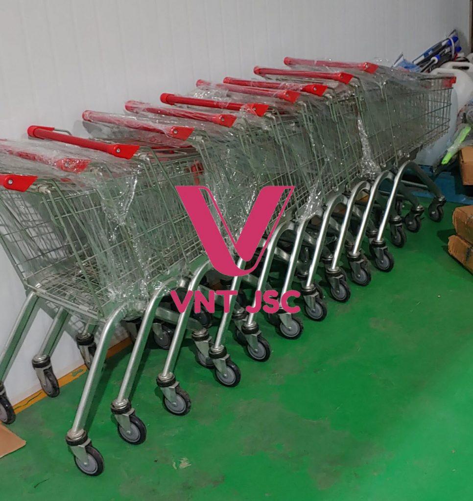 Xe đẩy siêu thị VNT JSC loại 80 lít