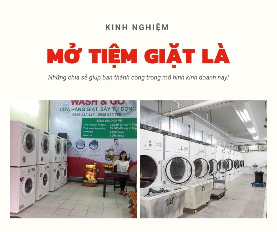 Kinh nghiệm mở tiệm giặt là