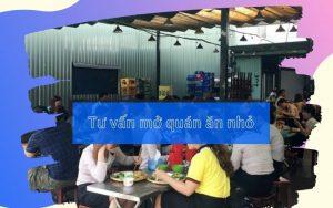 Tư vấn mở quán ăn nhỏ