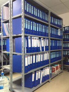 Kệ để hồ sơ văn phòng